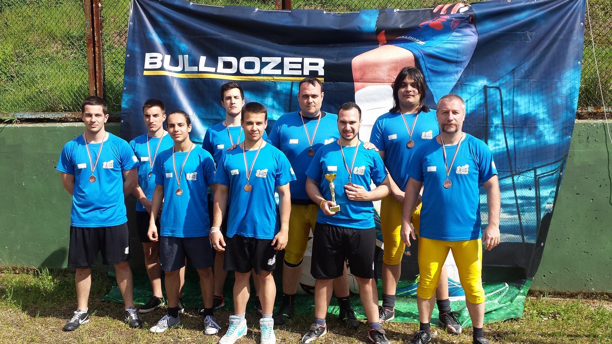 Sofia Bulldozers флаг футбол