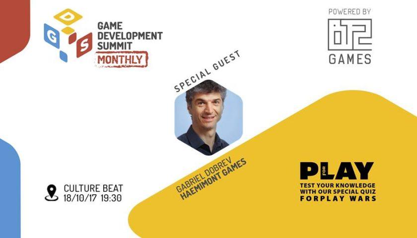Game Dev Summit Monthly 1 - Quiz Night